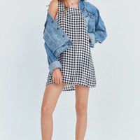 Cooperative Gingham Apron Mini Dress | Urban Outfitters