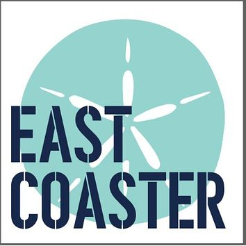 East Coaster Wooden Coaster Set | Sand Dollar