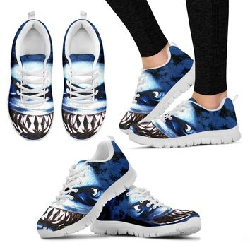 'Danger Looking Shark' Running Shoes(Men/Women)-3D Print-Free Shipping
