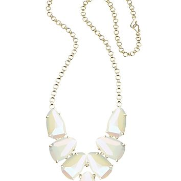 Harlie Statement Necklace in White Iridescent - Kendra Scott Jewelry