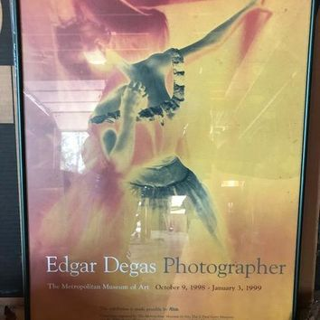 Edgar Degas Photographer Print