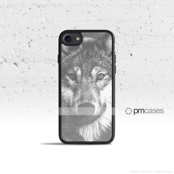 Vintage Wolf Case Cover for Apple iPhone 7 6s 6 SE 5s 5 5c 4s 4 Plus & iPod Touch