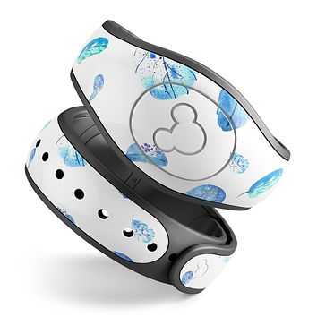 Hipster Feather Pattern - Decal Skin Wrap Kit for the Disney Magic Band