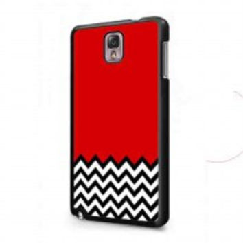 Welcome to twin peaks chevron for samsung galaxy note 3 case