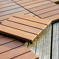 12x12 Wood Deck Tile