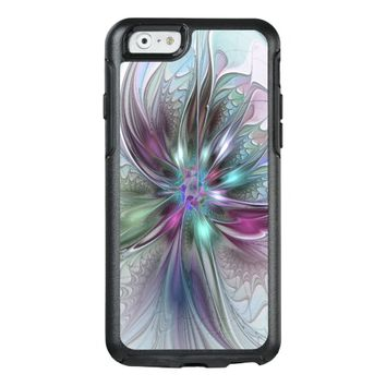 Colorful Fantasy, abstract and modern Fractal Art OtterBox iPhone 6/6s Case