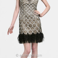 Beaded Flapper Cocktail Dresses by Sue Wong at eDressMe