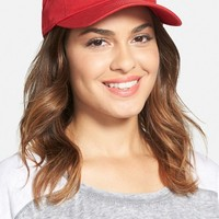 Junior Women's American Needle 'St. Louis Cardinals' Baseball Cap - Red
