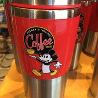 disney parks really swell coffee brand mickey's traveler tumbler stainless mug new
