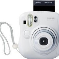 Fujifilm Instax MINI 25 Instant Film Camera (White)