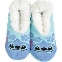 Disney Lilo & Stitch Cozy Hibiscus Slippers
