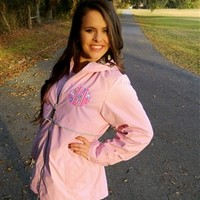 Light Pink Lilly Pulitzer Monogrammed Rain Jacket