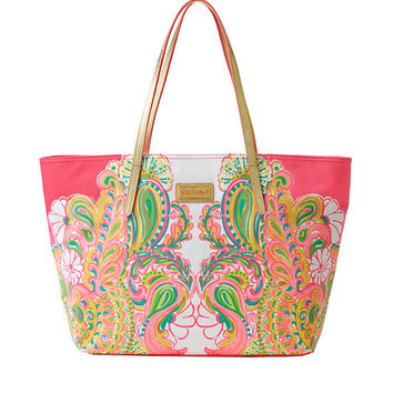 Resort Tote - Double Trouble Engineered - Lilly Pulitzer
