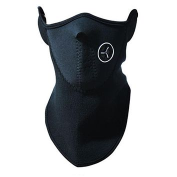 Airsoft Warm Fleece Half Face Mask