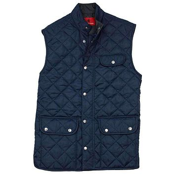 Ashport Quilted Vest by Southern Proper