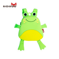 NOHOO Toddler Children School Bags Cute Cartoon Animals Frog Backpack Bags Fashion Printing Kindergarten Schoolbag Kids