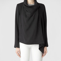 Womens Bayle Monument Jacket (Black) | ALLSAINTS.com
