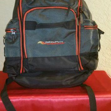 NEW 2016-2017 CIRCUIT OF THE AMERICAS Custom Backpack with Tech Pockets (COTA)