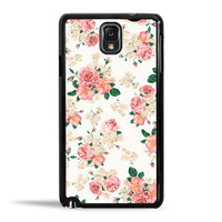 Pink Carnation Floral Case for Samsung Galaxy Note 3