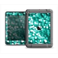 The Unfocused Teal Orbs of Light Apple iPad Mini LifeProof Nuud Case Skin Set