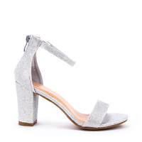 Ankle Strap Chunky Heel Sandal