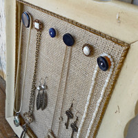 Jewelry Organizer with Vintage Flair by humblebeeproject on Etsy