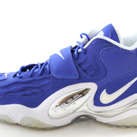 Nike Zoom Turf Jet 97 Men's Hyper Blue/White/Silver Basketball Trainers Shoes 554989 401