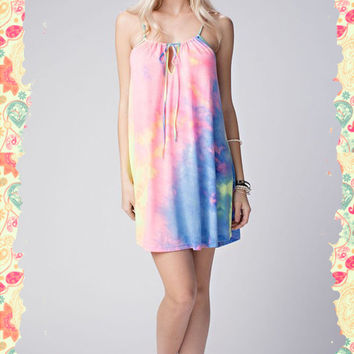 Going Undercover Tie-Dye Tunic