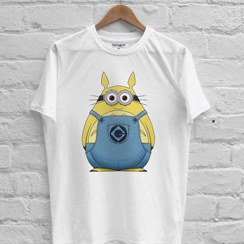 Minion Totoro T-shirt Men, Women Youth and Toddler