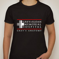 "Grey's Anatomy ""Grey + Sloan Memorial Hospital"" T-Shirt"