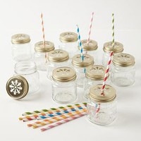 Mason Jar Sippers by Anthropologie Clear One Size House & Home