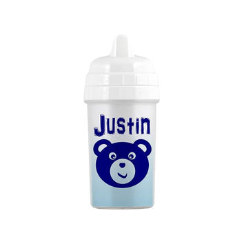 Personalized Teddy Bear Sippy Cup