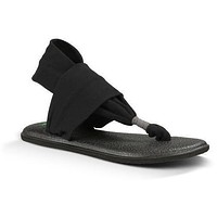 SANUK YOGA SLING 2 - Black Women's Sandals