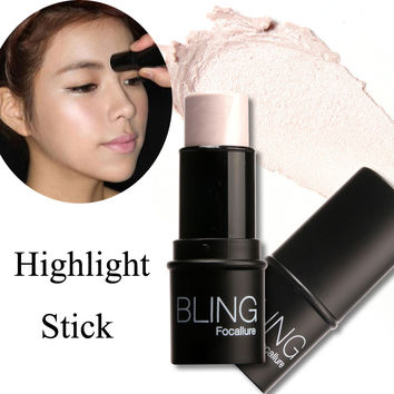 Brand Make up Highlighter Shimmer Stick Beauty Tools Highlighter Contour Water-proof Powder Cream Highlighting Bronzer