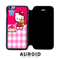 Hello Kitty Pink iPhone 6S Flip Case Auroid