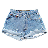 SALE - LEVI'S High Waisted Shorts