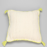 Magical Thinking Neon Rag Pillow - Urban Outfitters