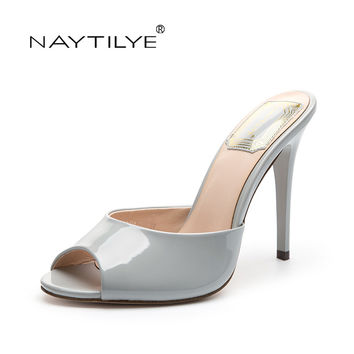 Women's high heels Pumps 2017 Casual  Peep Toe Spring/Autumn Summer Fashion woman shoes 36-41 Free shipping NAYTILYE