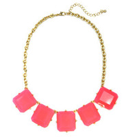 Neon Pink Summer Necklace