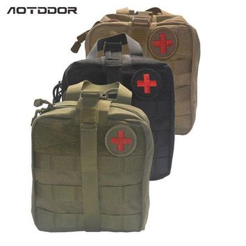 ONETOW 3 Layers Large Pouch Travel First Aid Kit Survie Portable Survival Tactical Emergency Bag Military Kit Medical Quick Pack