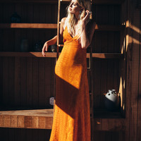 summerland dress tangerine hazely