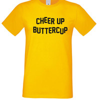 Cheer up Buttercup Shirt, Cheer Up Tshirt, Funny shirt, Tumblr Clothes Unisex Cotton Top Graphic Tee