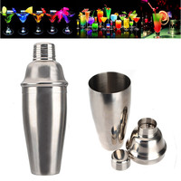 2015 Hot Selling Stainless Steel 750ml 25oz Wine Shaker Cocktail Martini Mixer for Barware Bar Party Drink Home