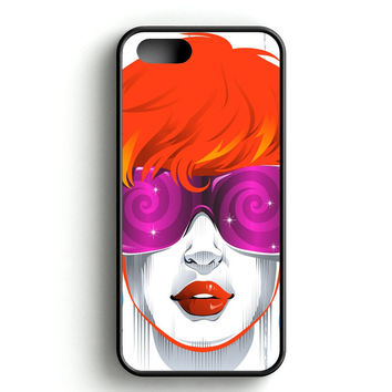 Abstract Sunglasses Woman iPhone 4s iPhone 5s iPhone 5c iPhone SE iPhone 6|6s iPhone 6|6s Plus Case