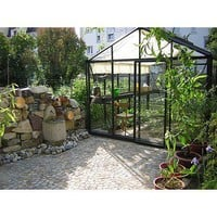 Janssens of Belgium Royal Victorian 10' x 15' Glass Greenhouse w/Accessories | Wayfair