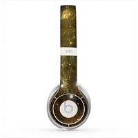The Glowing Gold Universe Skin for the Beats by Dre Solo 2 Headphones