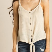 Casey Button Knit Cami