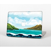 The Mountain & Water Art Color Scene Skin Set for the Apple MacBook Air 11""