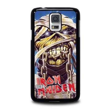 iron maiden samsung galaxy s5 case cover  number 1