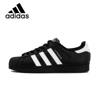 ADIDAS Original New Arrival Superstar Womens Skateboarding Shoes Mesh Breathable Ligh